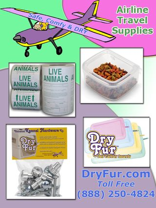 DRYFUR Pet Travel, Shipping & Transport Products